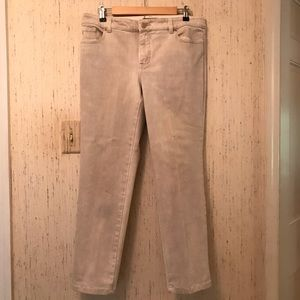 So Slimming By Chico's 1.5 Brushed Denim Pants